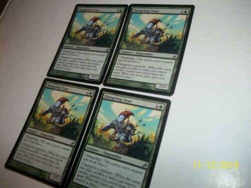 Details about  /Changeling Titan Lorwyn x4 NM//LP