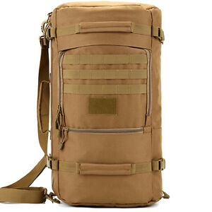 7adf24d9fb Image is loading 40L-50L-60L-Backpack-Tactical-Travel-Hand-Luggage-