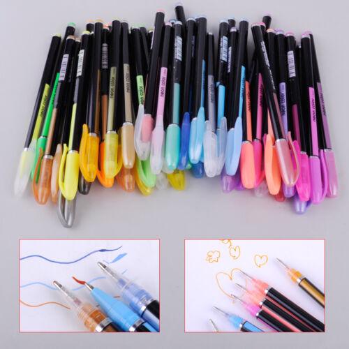 48 Farbe Gelschreiber Gelmalstifte Gelstifte Glitter Kugelschreiber Regenbogen