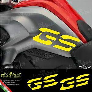 2pcs Adhesivo Compatible con Motocicletas R1200 GS BMW Motorrad R 1200 R1200GS Orange