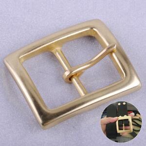 Laiton massif broche Boucle de Ceinture cuir Leather Belt Pin Buckle ... 806c657f444