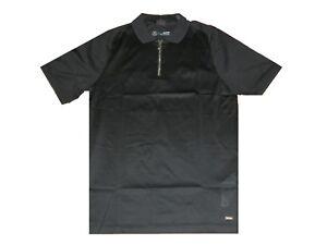 f111e831e55 Details about New Hugo Boss Designer Mercedes AMG Petronas F1 black louis  zip up polo t-shirt