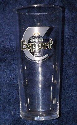 Carlsberg Export Extra Cold pint glass