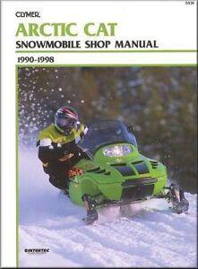 Clymer Service Manual Arctic Cat Z440 Zl440 Zl500 Zr440 Zr580 Zr600 Zrt600 Ebay