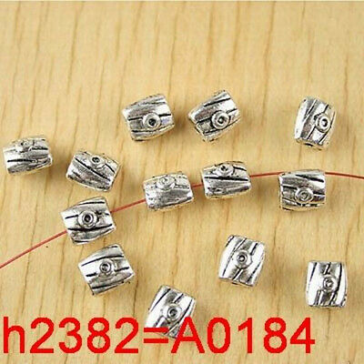 Lead-free 300pcs Tibetan Silver Spacer Beads Finding 5x5mm
