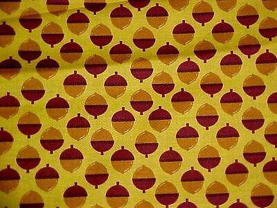 Acorn Quilting Cotton Fabric Michael Miller ACORNUCOPIA NORWEGIAN WOODS1/2 YD