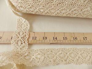 5m-x-35mm-Ivory-Cream-Lace-Bridal-Wedding-Ribbon-Cotton-Craft-Trim-Braid-04