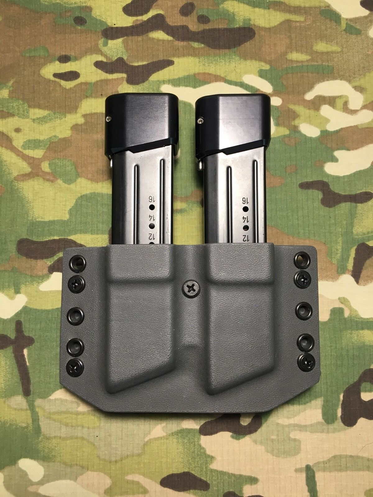 Armor grau Kydex M&P 9 .40 Magazine .357 Dual Magazine .40 Carrier c7ca61