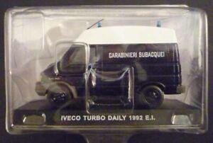 "1992 /"" SCALA 1//43 CARABINIERI DIE CAST /"" IVECO TURBO DAILY"