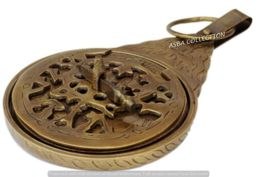"8/"" Arabic Calendar Astrolabe Arabic Globe Navigation Decor Gift"