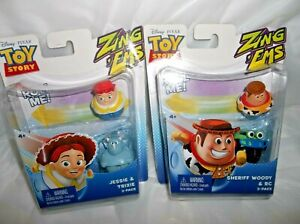 New in Pkg ~ DISNEY PIXAR TOY STORY ZING EMS ** Jessie
