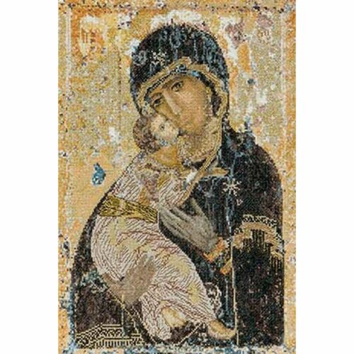 THEA GOUVERNEUR  531A  OUR LADY OF VLADIMIR  AIDA  COUNTED  CROSS STITCH KIT