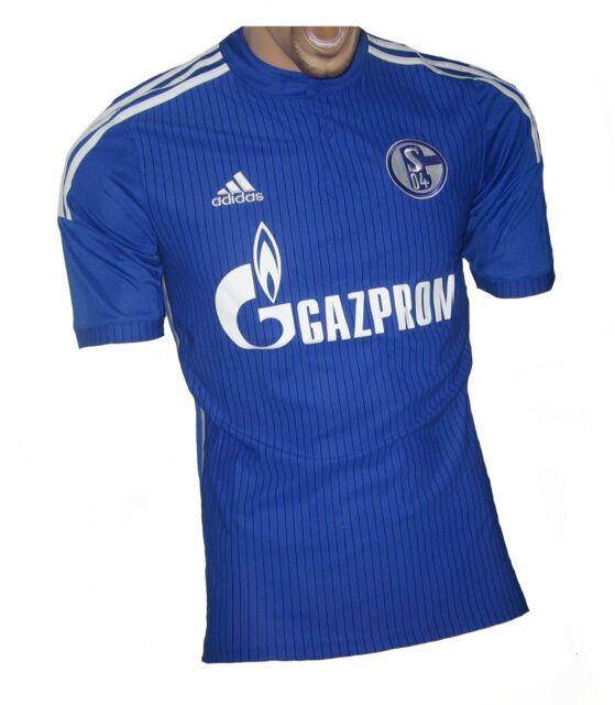 Adidas Fc Schalke 04 Trikot Home 20142015 Herren Blau Weiß S Ebay