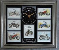 Classic Honda Stunning Collector Cards Wall Clock