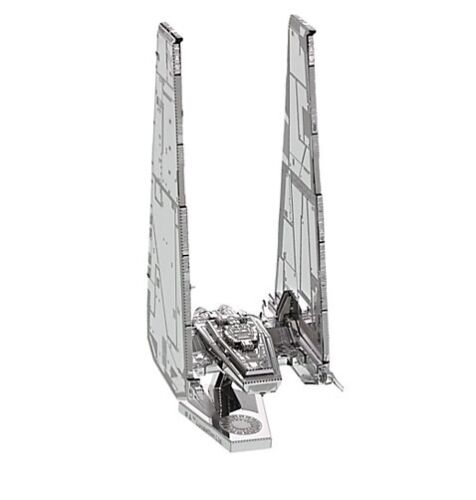 Disney Store Star Wars Force Awakens Kylo Ren Command Shuttle Metal Model Kit !