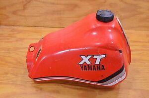 Details about 82 YAMAHA XT550 XT 550 GAS TANK FUEL PETROL W/ PETCOCK & CAP
