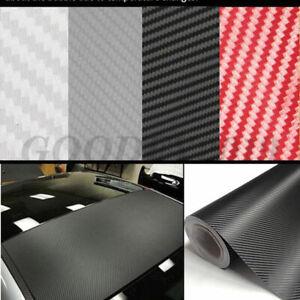 Car 3D 4D 5D 6D Carbon Fiber Vinyl Wrap Sheet Roll Film Sticker Decal