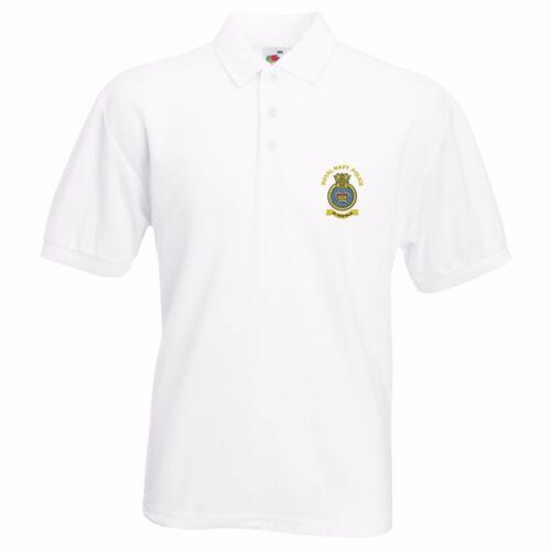 Royal Navy Polizia Ricamato Polo