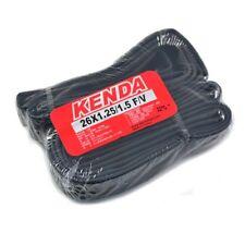 x2 KENDA 26 x 1.25-1.5 F//V 48mm Presta French Mountain Bike Tire Tube Tyre
