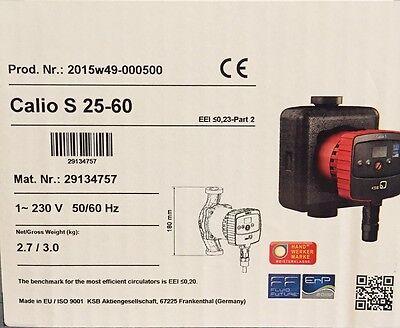 Zubehör Zubehör & Systemkomponenten Ksb Hocheffizienzpumpe Heizungspumpe Solarpumpe Calio S 25-60 180mm 29134757 QualitäTswaren