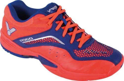 Victor A960 Homme Badminton Squash Chaussures-Rouge//Bleu