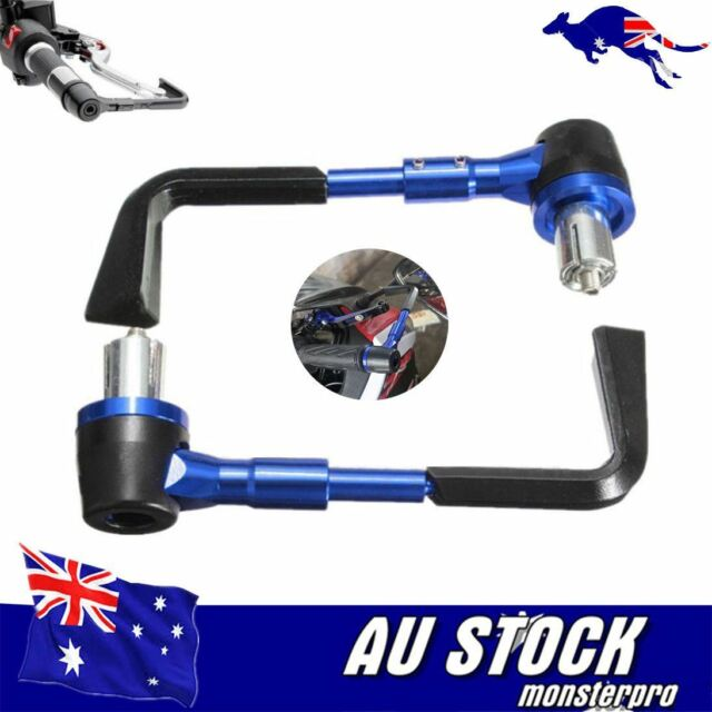 "Blue 7/8"" Brake Clutch Lever Protector Pro Guard for Yamaha YZF R1 R6 FZ6R FZ1"