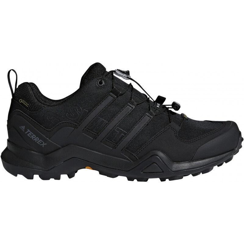 Para Hombre Adidas Terrex Swift R2 Gtx Hombres Zapatos para Caminar-Negro