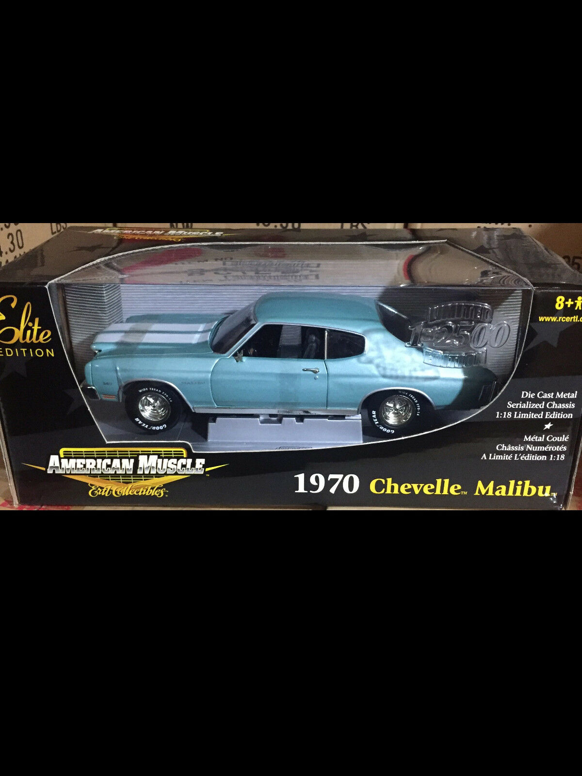 1970 Chevelle Malibu Turquoise 1 18 ertl american muscle 33953