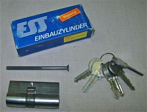 Zylinderschloss Sicherheitsschloss DDR Einbauzylinder
