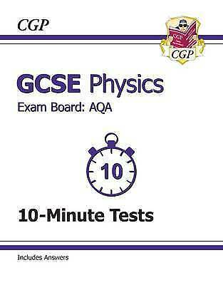 (Good)-GCSE Physics AQA 10-Minute Tests (including Answers) (A-G course) (Paperb