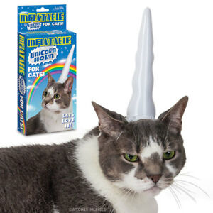 Inflatable-Unicorn-Horn-For-Cats