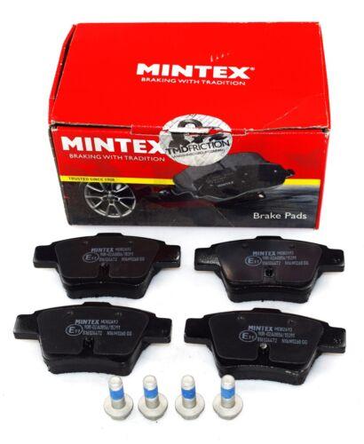 REAL IMAGE OF PART MINTEX REAR AXLE BRAKE PADS FOR CITROEN PEUGEOT MDB2693
