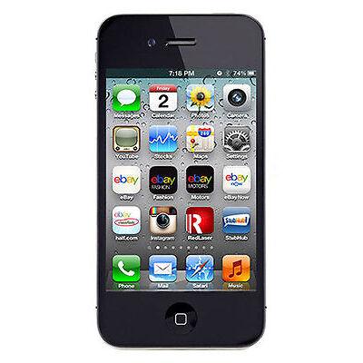 Apple iPhone 4s 16GB schwarz  in orig. Box; unlocked + iCloudfrei + brandingfrei