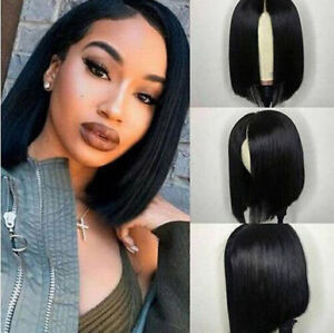 Details about Lace Front Human Hair Wigs