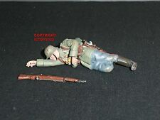 BRITAINS 23079 WORLD WAR ONE 1916 GERMAN INFANTRY CASUALTY METAL TOY SOLDIER