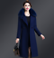 Womens-Warm-Wool-Trench-Long-Coat-Parka-Faux-Fur-Collar-Winter-Jacket-Overcoat thumbnail 8