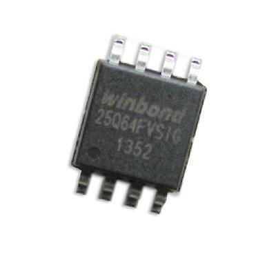 10PCS W25Q64 W25Q64FVSSIG IC FLASH 64MBIT 104MHZ SOIC8 NEW