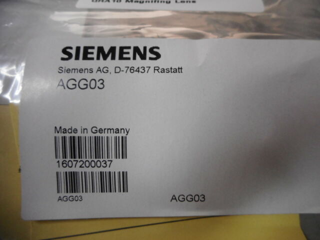 LANDIS and GYR SIEMENS -- QUARTZ GLASS LENS for QRA10 Flame Detector -- AGG03