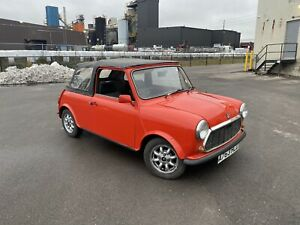 1983 MINI Classic Mini removable roof - Austin - RIGHT HAND DRIVE, MANUAL