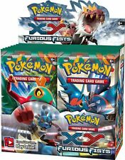 POKEMON ENGLISH XY FURIOUS FISTS Booster Box 36ct SEALED IN HAND!!