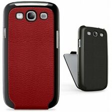 SAMSUNG GALAXY S III S3 BELKIN Snap Folio Faux Leather Case Sleeve Red Wallet
