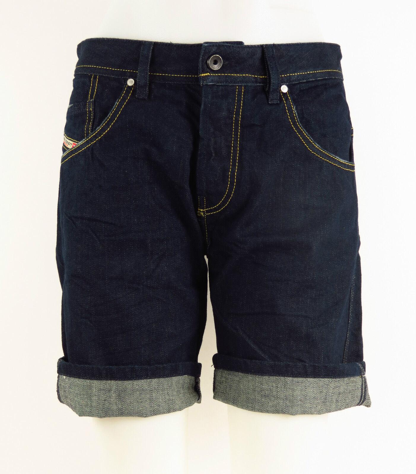 DIESEL Women Jeans Shorts X-SLATOR 00C78H-008IL-01 +NEU+