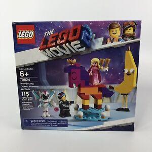 New-LEGO-Movie-2-Introducing-Queen-Watevra-Wa-039-Nabi-115-Pieces-Sealed-Set-70824