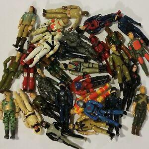 Collection-lot-de-1982-1983-1984-G-I-Joe-Cobra-A-Real-American-Hero-Action-Figures-vous-choisissez