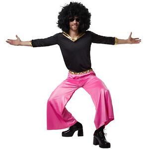 kost m herren disco dancer 70er 80er hemd schlaghose party fasnacht karneval ebay. Black Bedroom Furniture Sets. Home Design Ideas