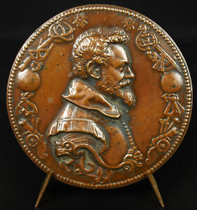 Medal-to-Simon-Stevin-Ngenieur-Physicist-Mathematician-Belgium-Flemish-Medal