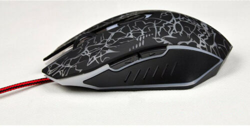 Cool 4000 DPI Mice 6 LED Buttons Wired USB Optical Gaming Mouse For Pro Gamer S7