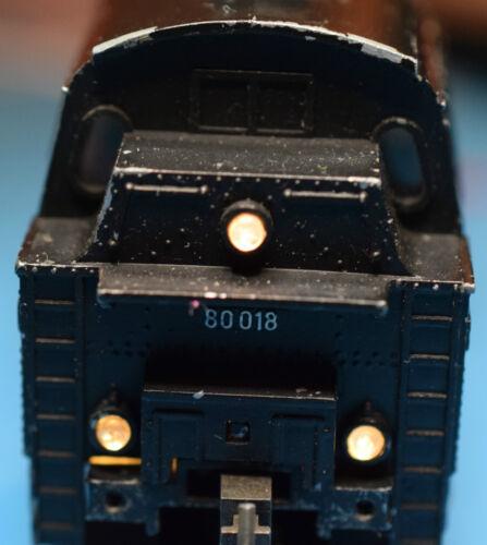 Trix Express BR80 Schlussbeleuchtung für 2217 /& 2218 rot//weiß