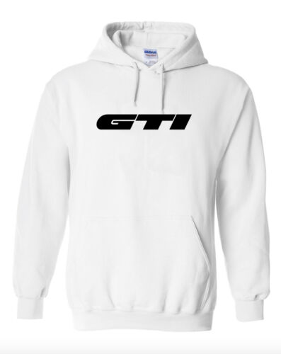 S thru 3XL VW GTI Volkswagen HOODIE Long Sleeve Free shipping Priority mail