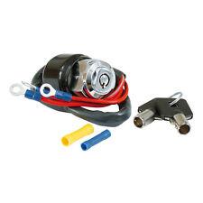 Zündschloß, runder Schlüssel Chrom, für Harley - Davidson Dyna, Sportster